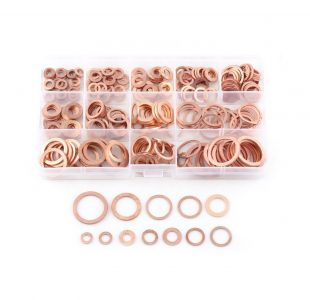 400pcs Copper Washer Assortment » Toolwarehouse » Buy Tools Online
