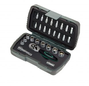Socket Set 28-pcs Multi-Lock Precision
