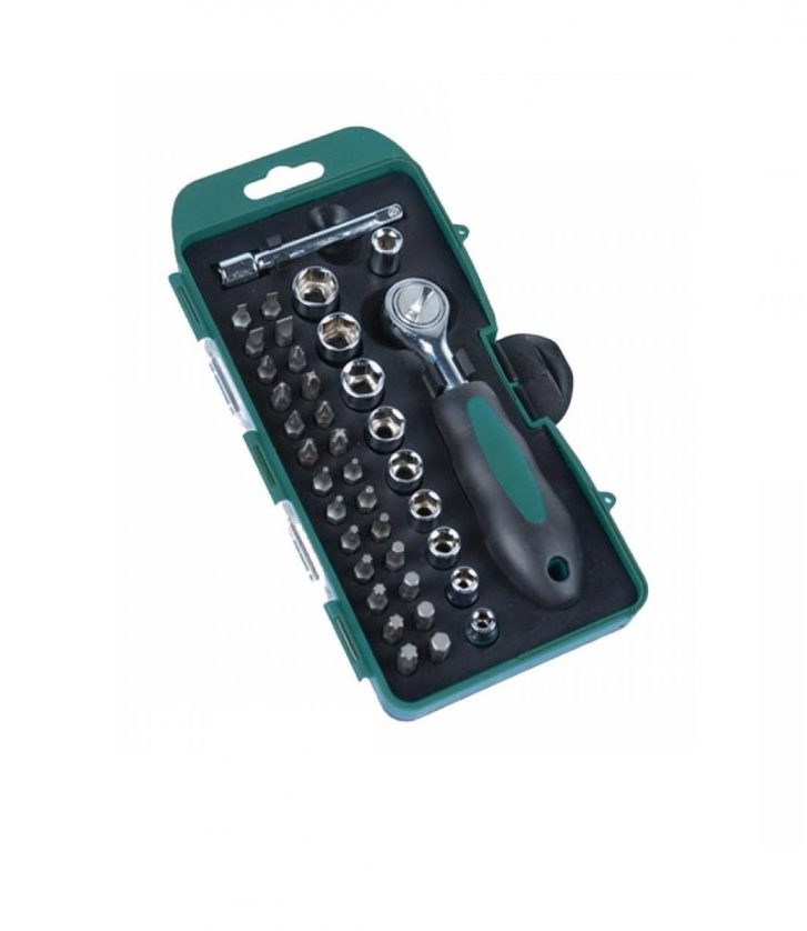 38pcs Socket and Bit Set » Toolwarehouse » Buy Tools Online