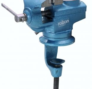 60mm Swivel Table Vice with Anvil