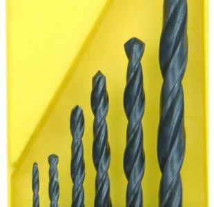 HSS Twist Drill Bit Set - 6 Pieces