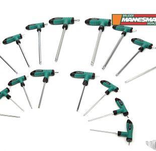 16-pcs T-Wrench set