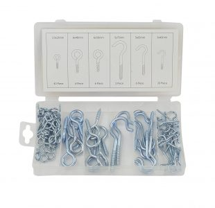 80pcs Hook Bolt Assortment » Toolwarehouse » Buy Tools Online