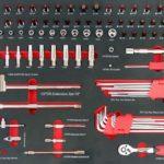 99PCS 1/4 Socket Tool Kit: WT01Y0051