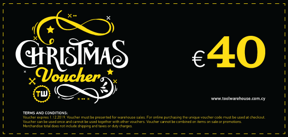40€ Toolwarehouse Voucher