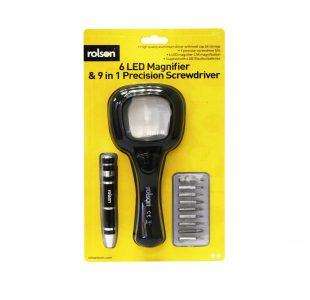 6 LED Magnifier and Screwdriver