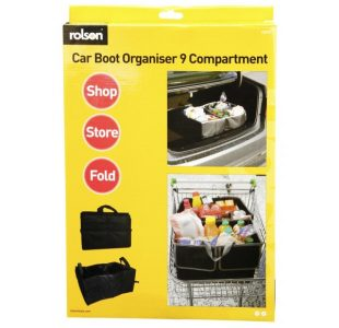 Car Boot Compartment Bag