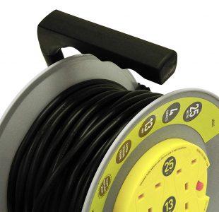 4 Socket 25m 13A HD Reel