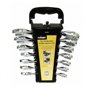 7pc Stubby Spanner Set » Toolwarehouse » Buy Tools Online