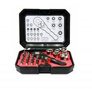 24pc Ratchet Bit & Socket Set » Toolwarehouse » Buy Tools Online