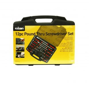 12PC HEX SHANK SCREWDRIVER