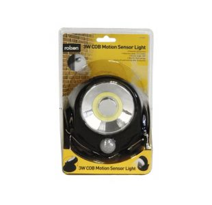 COB Motion Sensor Light