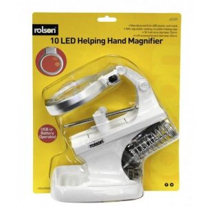 LED Helping Hand Magnifier