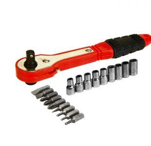 Offset Ratchet Screw & Socket Set » Toolwarehouse » Buy Tools Online