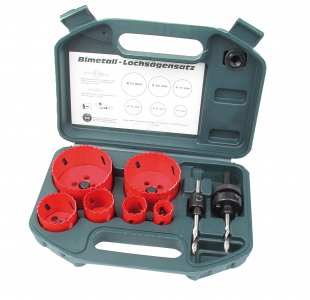 8pcs Hole Saw set HSS » Toolwarehouse » Buy Tools Online