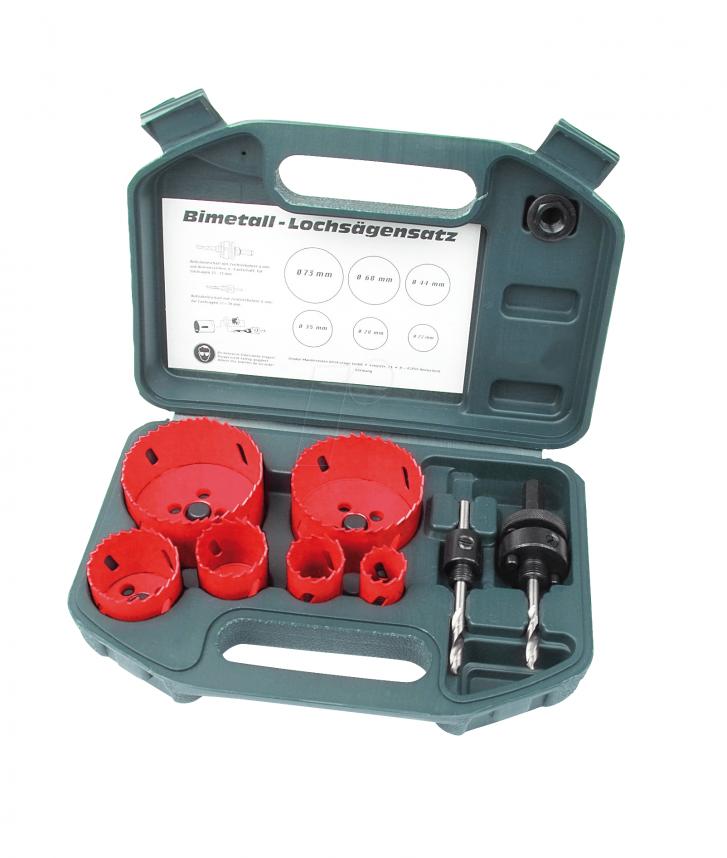 8pcs Hole Saw set HSS » Toolwarehouse » Buy Tools Online