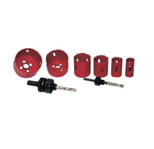 8pcs Hole Saw set HSS