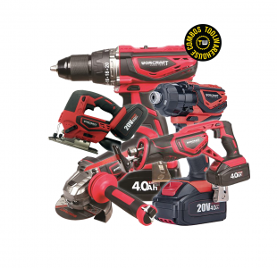 Worcraft Combo 4 » Toolwarehouse » Buy Tools Online
