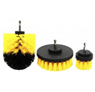 3pc Drill Brush Set » Toolwarehouse » Buy Tools Online