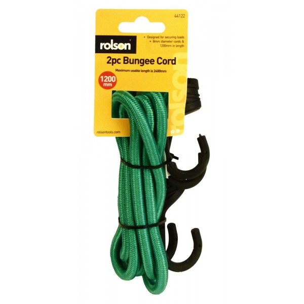 2pc Bungee 8 x 1200mm