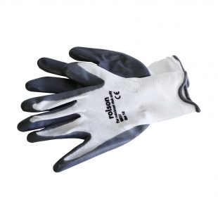 Grey Nitrile Coated Work Gloves » Toolwarehouse » Buy Tools Online