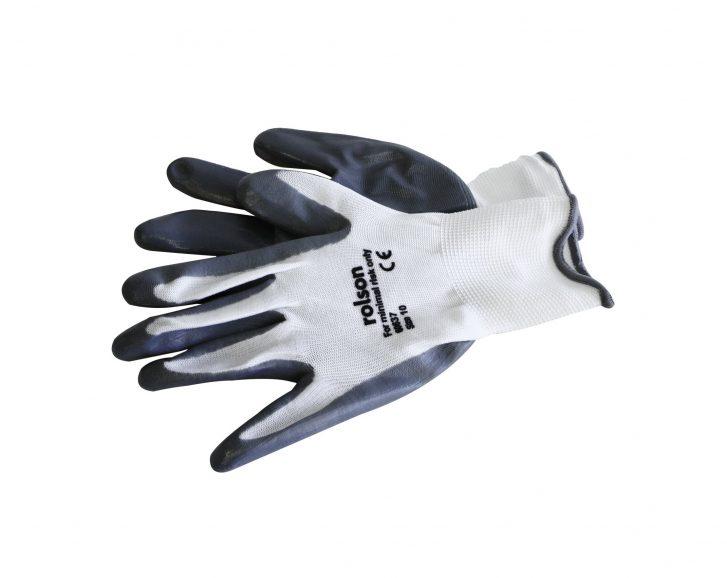 Grey Nitrile Coated Work Gloves » Toolwarehouse » Buy Tools Online