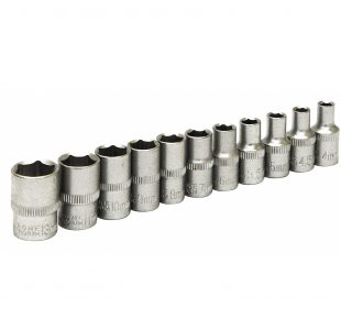 11pc 1/4 Dr Shallow Socket » Toolwarehouse » Buy Tools Online