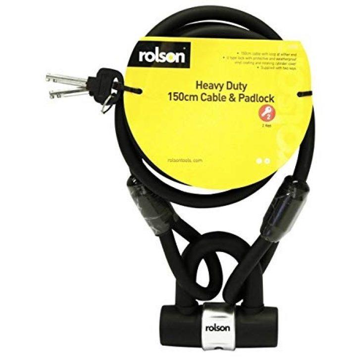 Heavy Duty Cable & Lock