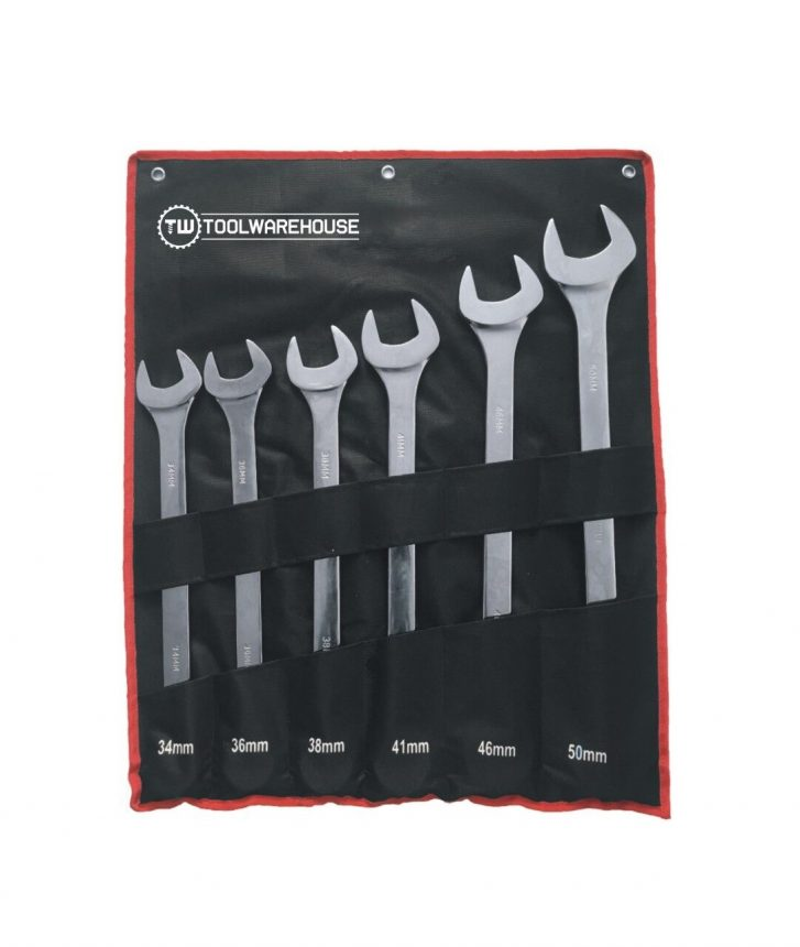 Jumbo Combination Spanner Set » Toolwarehouse » Buy Tools Online