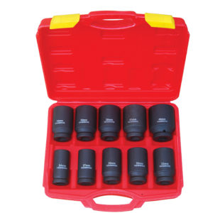 10pcs Deep Impact Socket 3/4'' » Toolwarehouse » Buy Tools Online