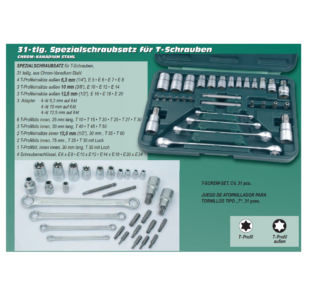T-Profile Bit Set 30-Piece