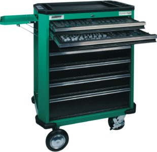 321pcs Professional Tool Trolley