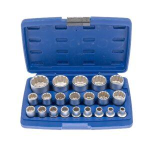 21pcs 1/2''Dr. 12pt Socket Set » Toolwarehouse » Buy Tools Online