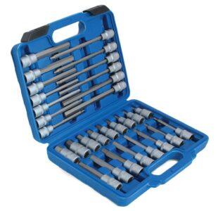 30pcs 1/2''Dr. Hex Bits Socket Set » Toolwarehouse » Buy Tools Online